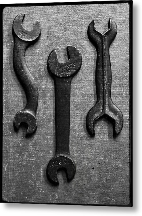 Box Wrench Metal Print featuring the photograph Box Wrench by Tom Druin