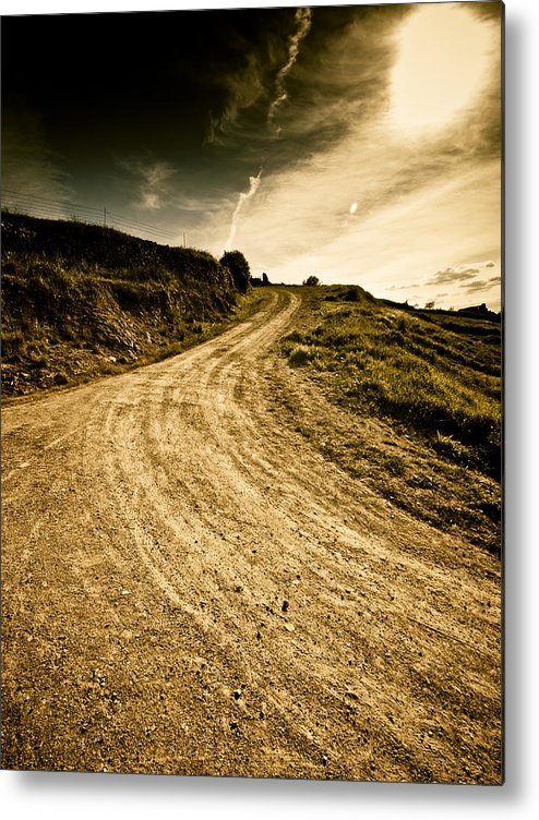 Path Metal Print featuring the photograph Camino Rural by Felix M Cobos