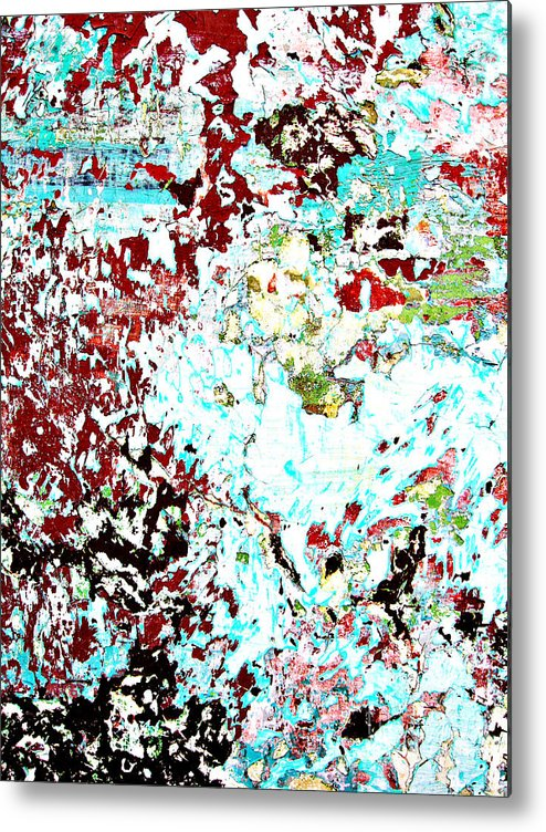 Wall Metal Print featuring the photograph Chipped Wall 1 by Derek Selander