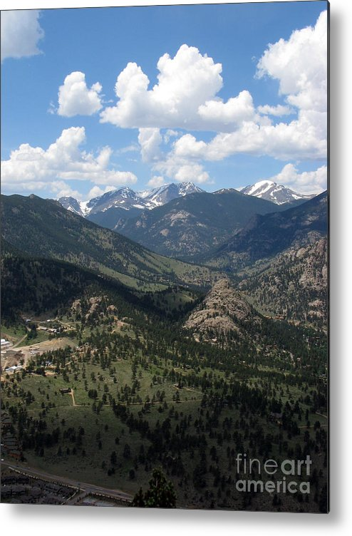 Colorado Metal Print featuring the photograph Colorado by Amanda Barcon