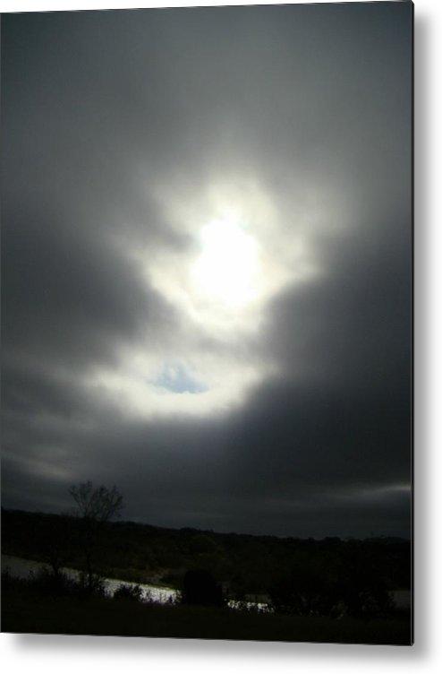 Dark Metal Print featuring the photograph Dark Sky One by Ana Villaronga