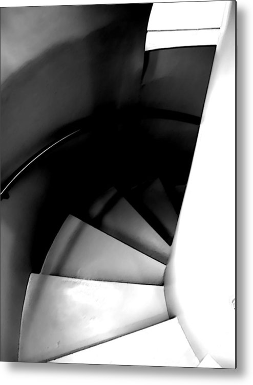 Steps Metal Print featuring the photograph Descent by Jim DeLillo