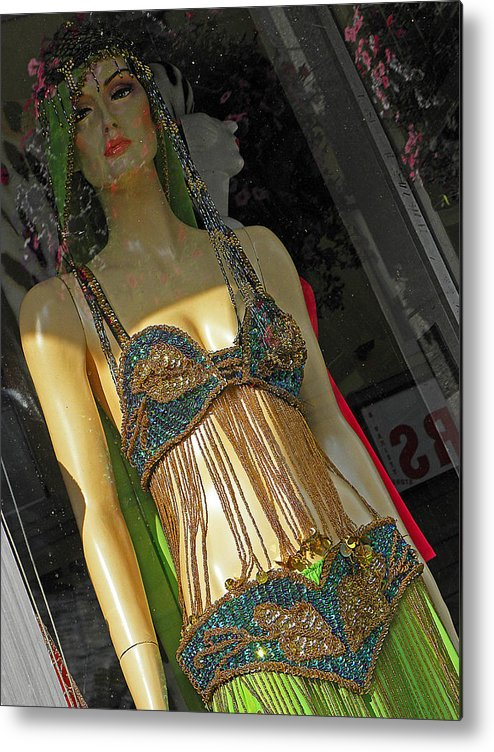 Mannequin Metal Print featuring the photograph Egyptian Beauty by Elizabeth Hoskinson