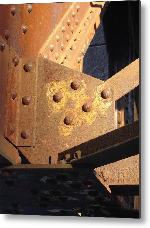 Architectural Metal Print featuring the photograph Elbow by Dean Corbin