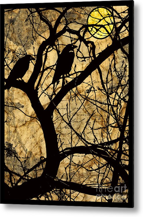 Trees Metal Print featuring the digital art Fairytale Forest by Judy Wood
