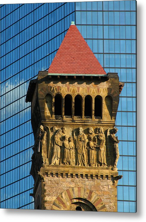 Boston Metal Print featuring the photograph First Baptist Church Of Boston by Juergen Roth
