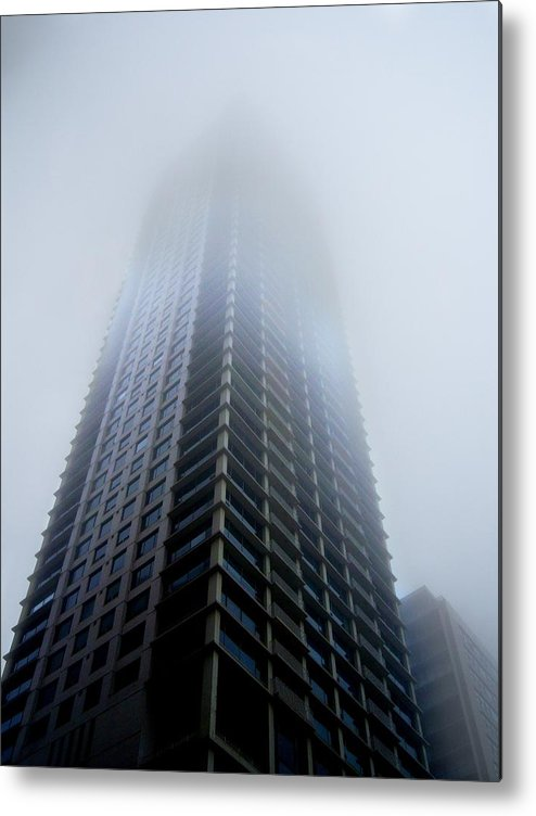 Fog Metal Print featuring the photograph Fog by Ryan Mathes