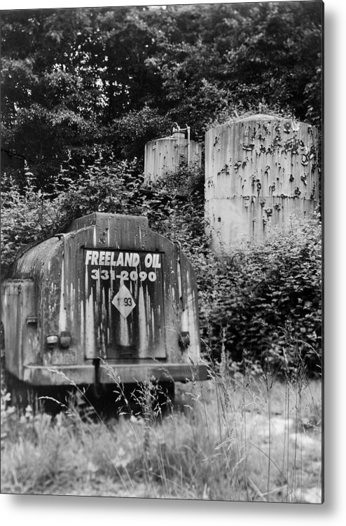 Environment Metal Print featuring the photograph Fossil Fuels by Jim Furrer