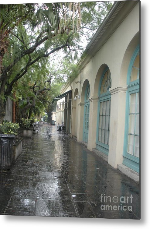 French Market Metal Print featuring the photograph French Market Alley by Jo Anna McGinnis