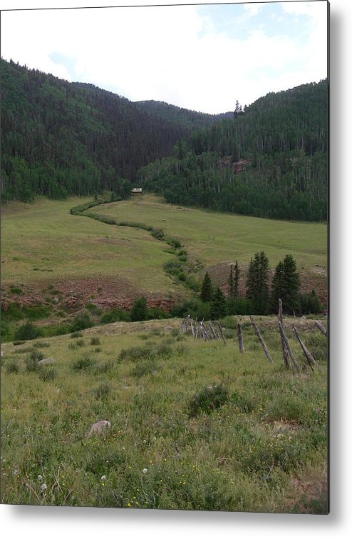 Nature Metal Print featuring the photograph Grazing Lands by Peter McIntosh