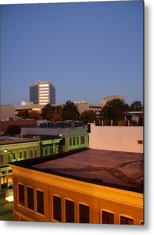 Greenville Metal Print featuring the photograph Greenville by Flavia Westerwelle