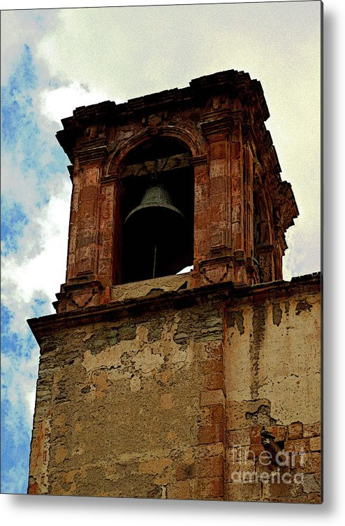 Darian Day Metal Print featuring the photograph Guanajuato Bell Tower by Mexicolors Art Photography