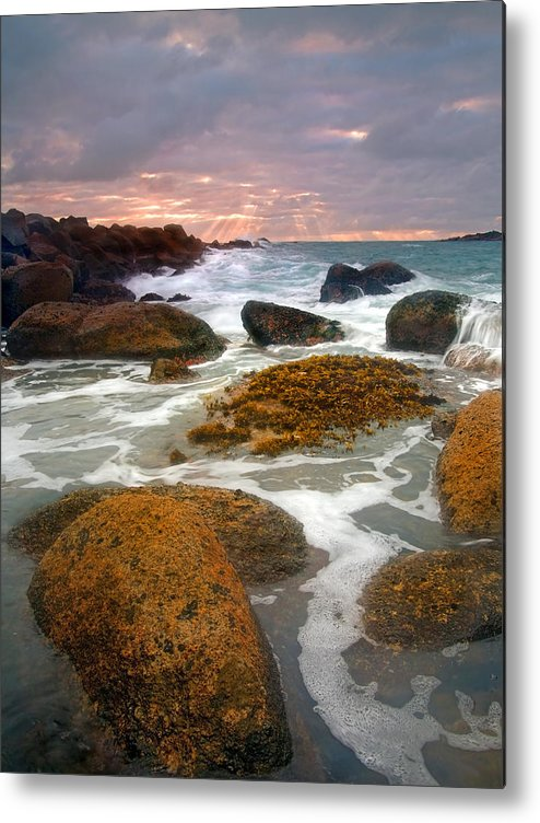 Sunrise Metal Print featuring the photograph Heavenly Dawning by Mike Dawson