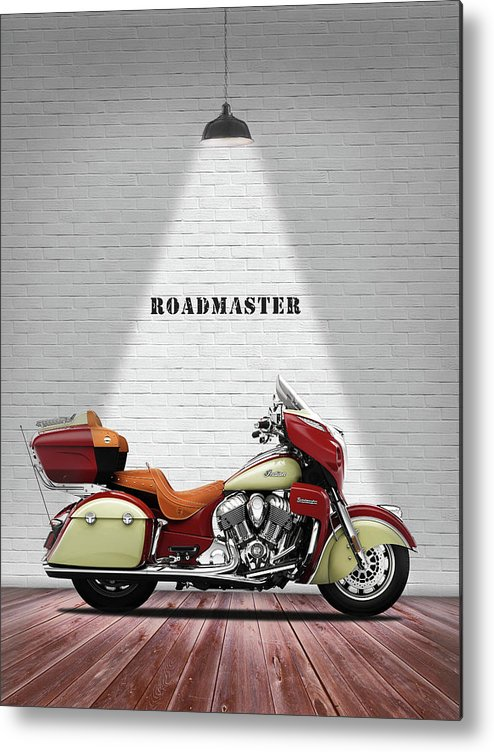 Indian Roadmaster Metal Print featuring the photograph The Roadmaster by Mark Rogan
