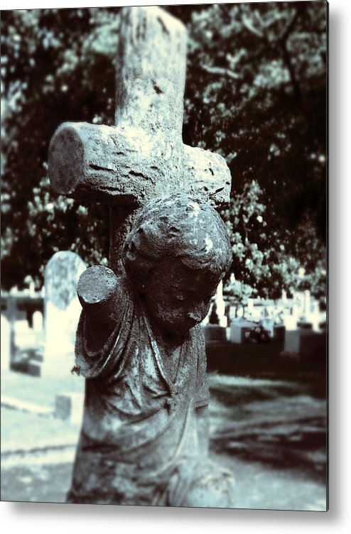 Gothic Metal Print featuring the photograph Innocence by Jessica Burgett