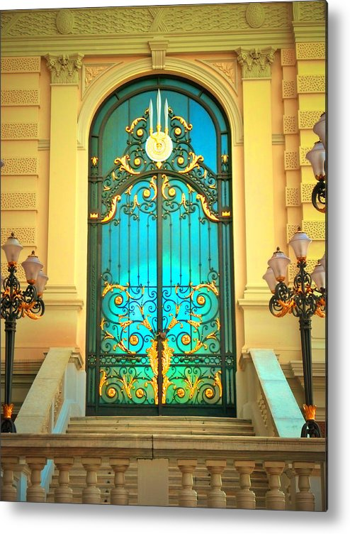 Door Metal Print featuring the photograph Intricacies by Tara Turner