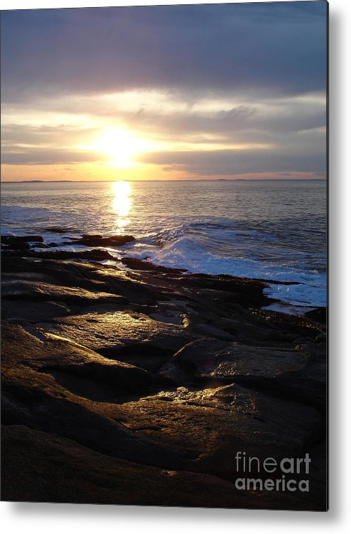 Landscape Metal Print featuring the photograph Ipswich Bay Delight by Chad Natti