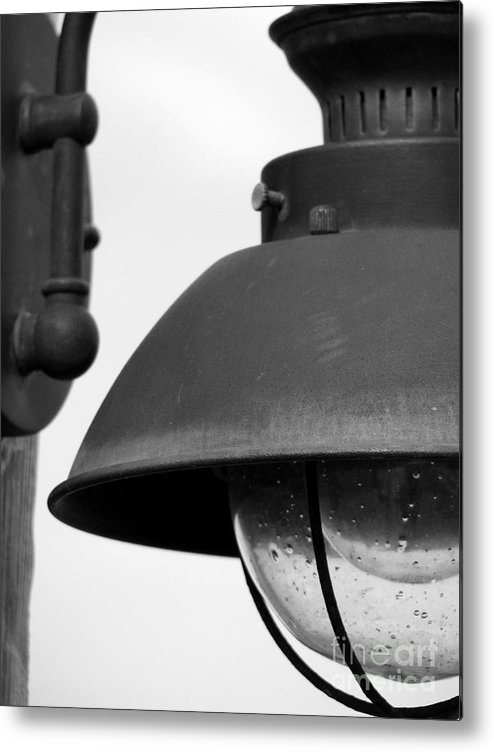 Lamppost Metal Print featuring the photograph Lamp Post by Amanda Barcon