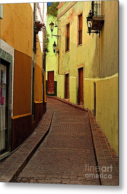 Darian Day Metal Print featuring the photograph Late Golden Light by Mexicolors Art Photography