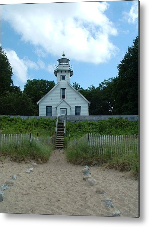 Lighthouse Metal Print featuring the photograph Lighthouse by Victoria Johns