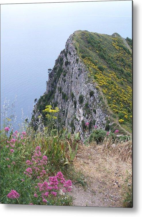 Capri Metal Print featuring the photograph Monte Solaro by Adam Schwartz