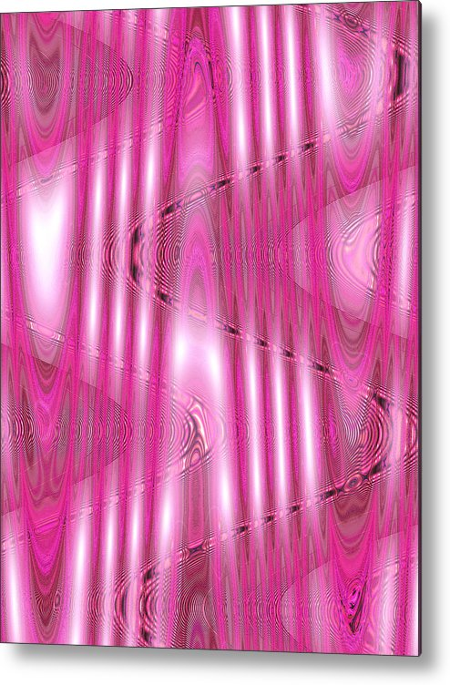 Moveonart Digital Gallery Lower Nob Hill San Francisco California Jacob Kanduch Metal Print featuring the digital art Moveonart Bring Us Closer 2 by Jacob Kanduch
