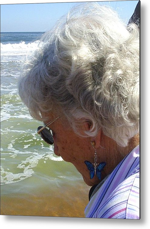 Grandmother Metal Print featuring the photograph My Grandmother by Scarlett Royal