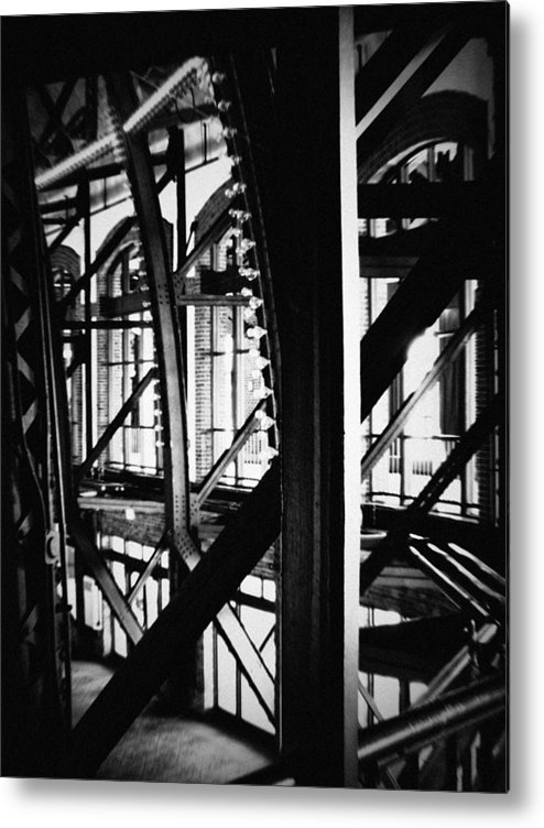 Chicago Metal Print featuring the photograph Navy Pier Grand Ballroom by Kyle Hanson