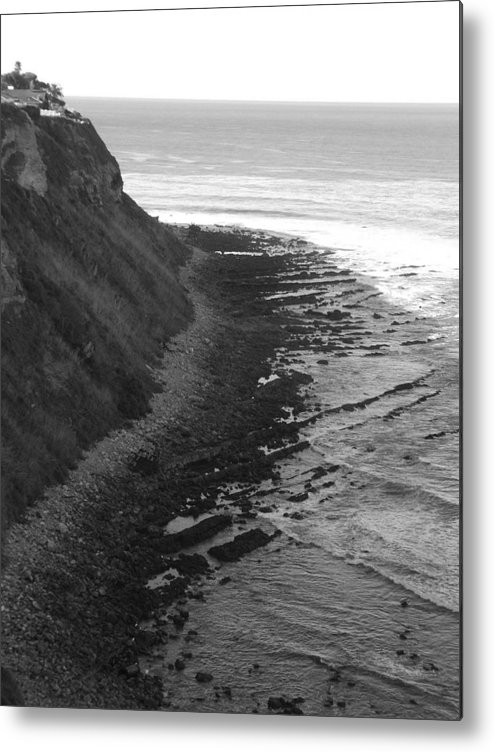 Beaches Metal Print featuring the photograph Oceans Edge by Shari Chavira