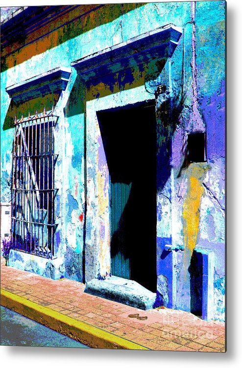 Darian Day Metal Print featuring the photograph Old Paint By Darian Day by Mexicolors Art Photography