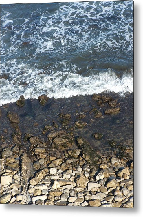 Ocean Metal Print featuring the photograph Opponents by Shari Chavira