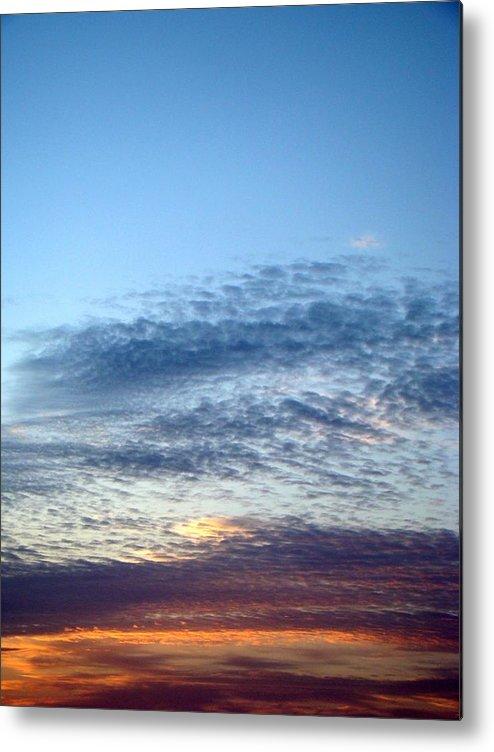 Sky Metal Print featuring the photograph Painted Sky Six by Ana Villaronga
