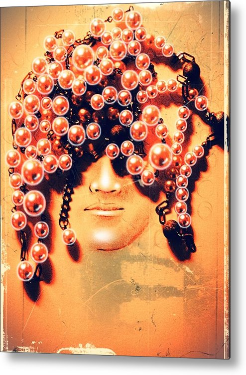 Pearls For Pigs Metal Print featuring the digital art Pearls For Pigs by Paulo Zerbato