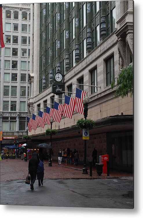 Boston Metal Print featuring the photograph Pride by Michael L Gentile