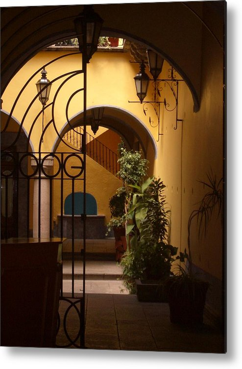 Photography Metal Print featuring the photograph Queretaro Classic by Kathy Simandl