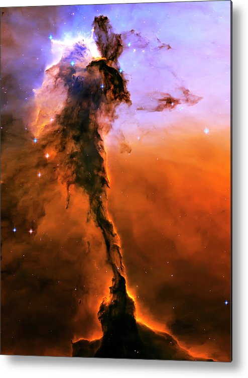 Outer Space Metal Print featuring the photograph Release - Eagle Nebula 2 by Jennifer Rondinelli Reilly - Fine Art Photography
