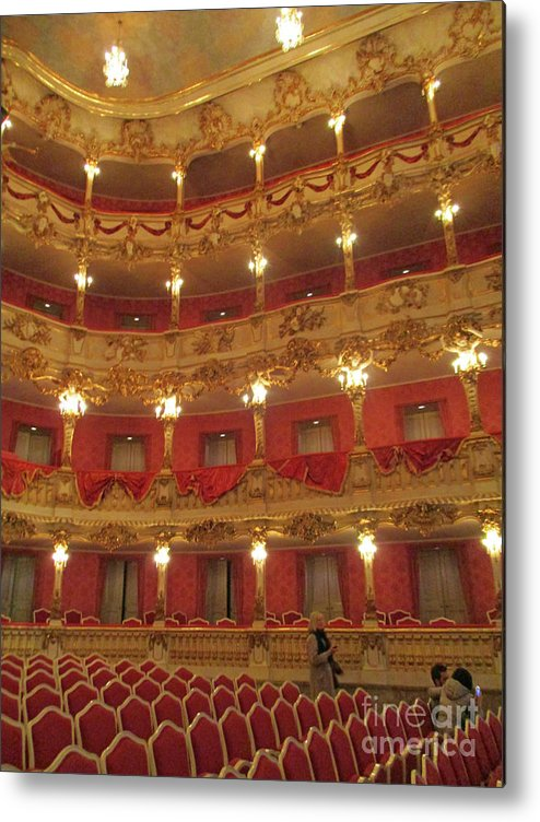 Munich Metal Print featuring the photograph Residenz Theatre 6 by Randall Weidner