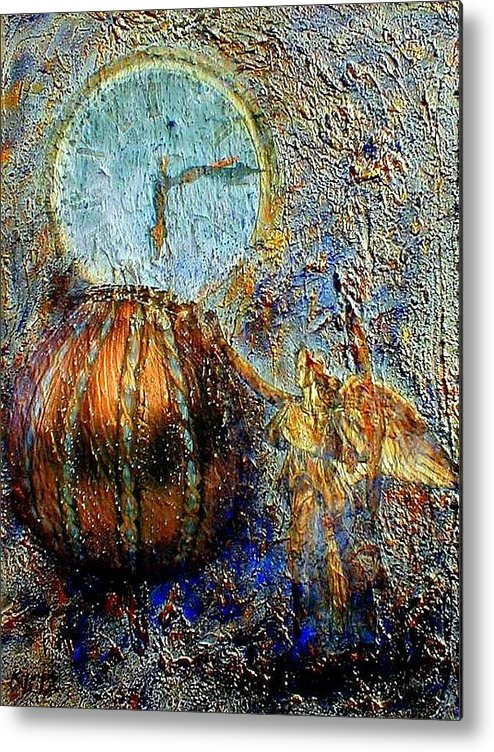 Christian Metal Print featuring the mixed media Revelation by Gail Kirtz