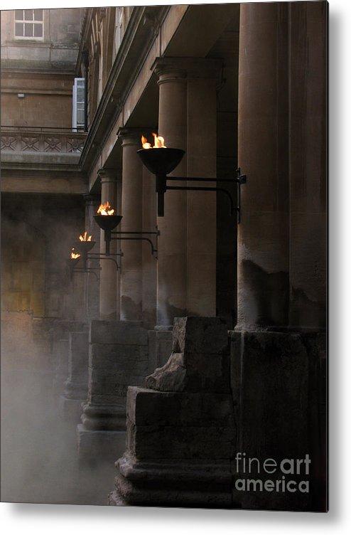 Bath Metal Print featuring the photograph Roman Baths by Amanda Barcon