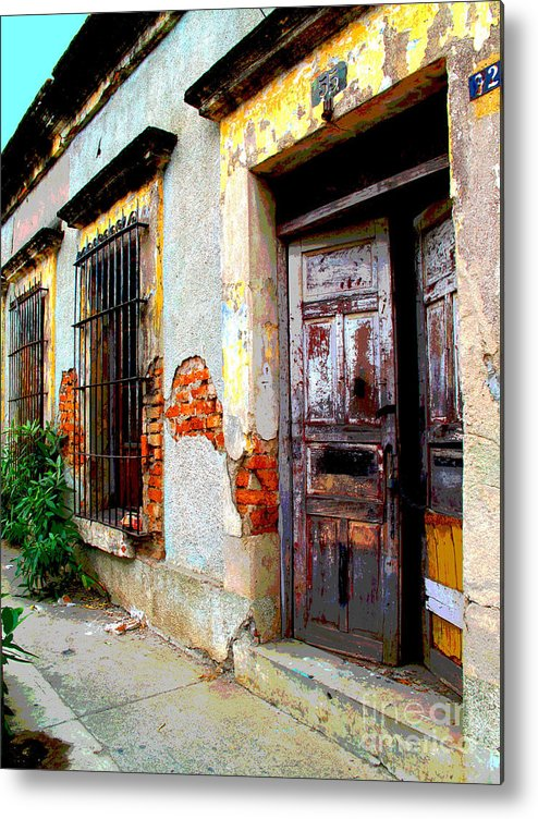 Darian Day Metal Print featuring the photograph Ruin By Darian Day by Mexicolors Art Photography