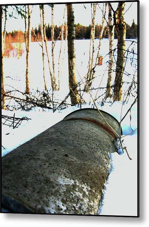 Rust Metal Print featuring the photograph Rusty One by Jani Vaha