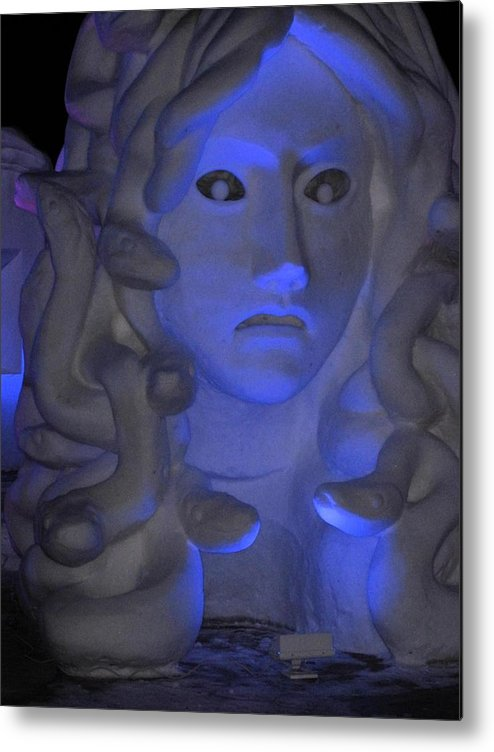 Snow Metal Print featuring the photograph Snow Queen by Lori Kulpinski