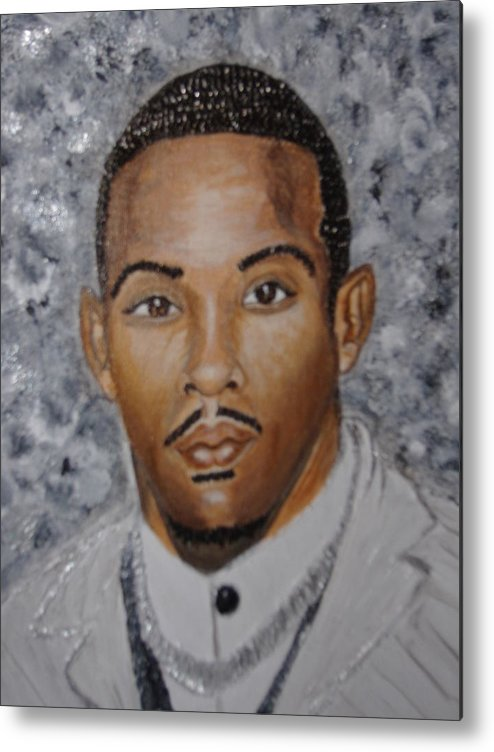 Acrylic Metal Print featuring the painting So Fresh So Clean by Keenya Woods