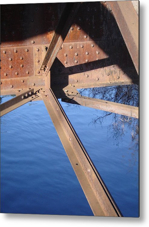 Architectural Metal Print featuring the photograph Span by Dean Corbin