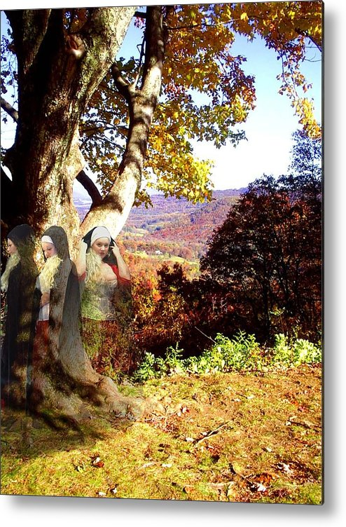 Fall Metal Print featuring the photograph Spirits In View by Scarlett Royal
