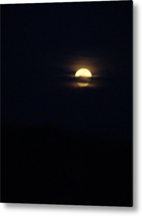 Full Moon Metal Print featuring the photograph Spring Moon One by Ana Villaronga
