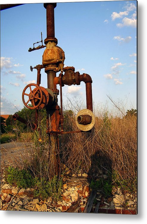 Pipes Metal Print featuring the photograph Still Here by Flavia Westerwelle