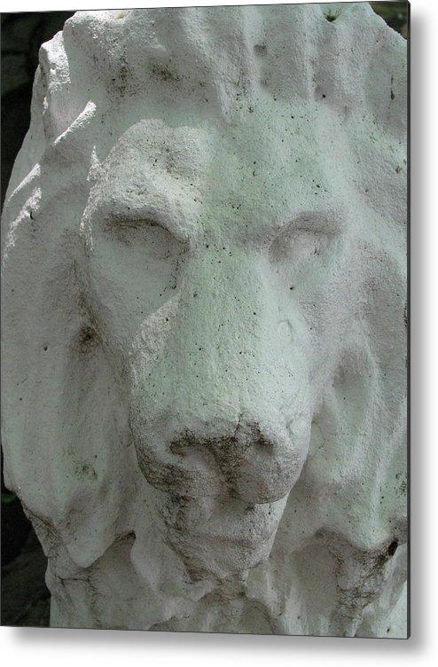Leo Metal Print featuring the photograph Stonework Leo by Belinda Consten