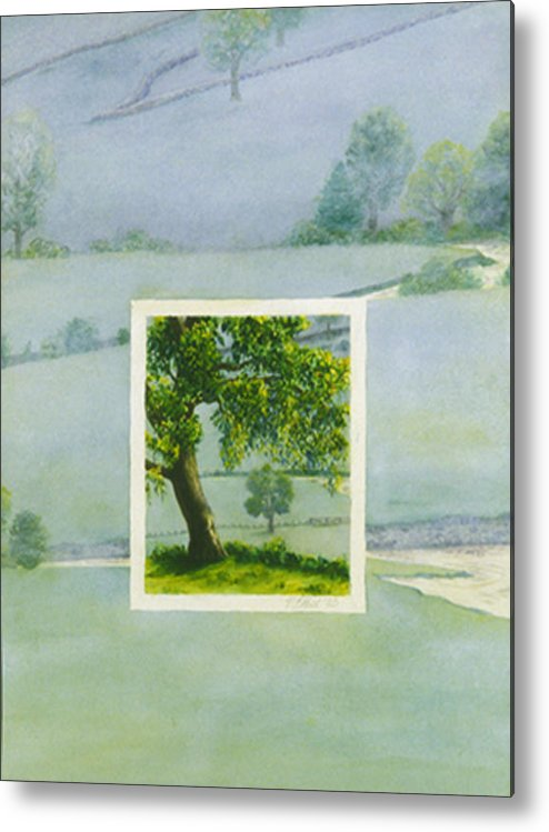 Summer Metal Print featuring the painting Summer by Nancy Ethiel