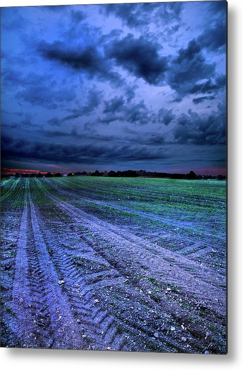 Horizons Metal Print featuring the photograph The Blues by Phil Koch